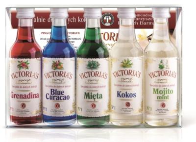 """""""Victoria's"""" sirupų rinkinys 5x50 ml"""