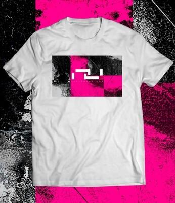 Fisiogram Lab ¨ Magenta ¨ Withe T-Shirt