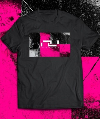 Fisiogram Lab ¨ Magenta ¨ Black T-Shirt