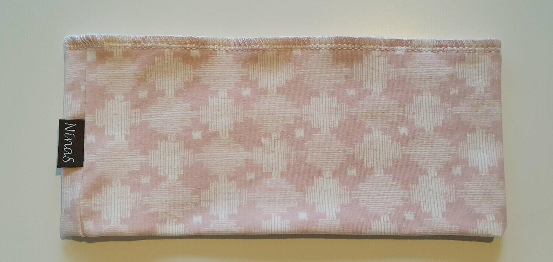 Pannebånd - lys rosa