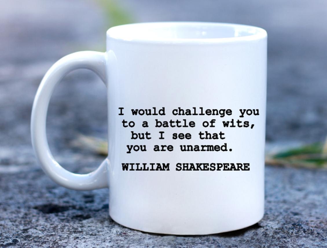I would challenge you.....