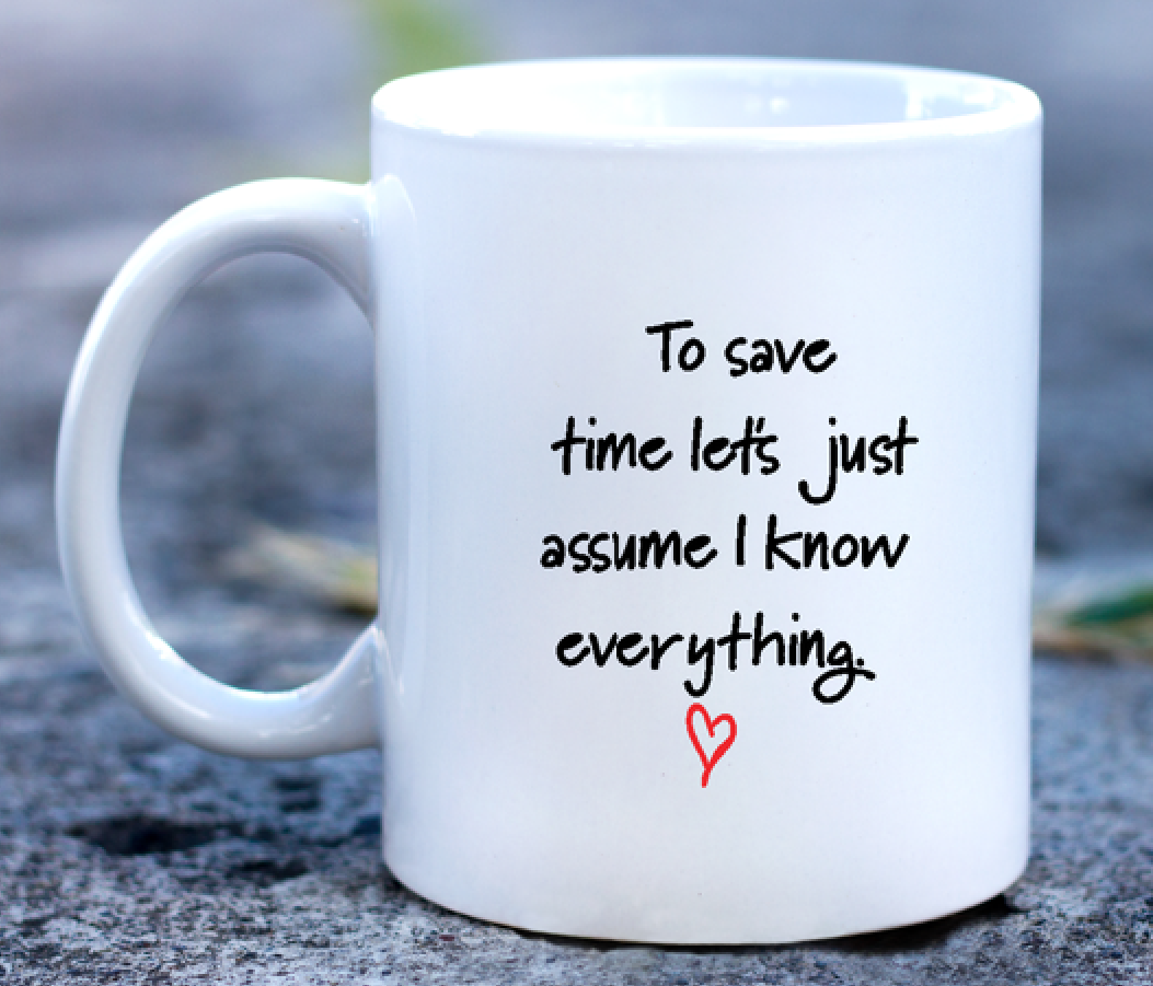 To save time....