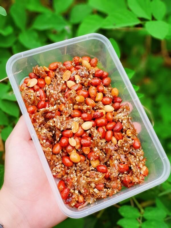 金丝蜜糖江鱼仔与炒花生 Golden Honey Anchovies w/ Peanuts - 150 Gram