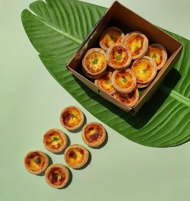 葡式蛋挞 Portuguese Egg Tarts (14 Pcs)