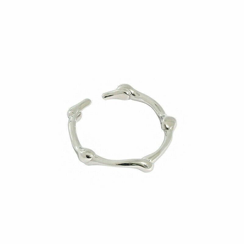 Ring aus 925er Sterlingsilber minimalistisch