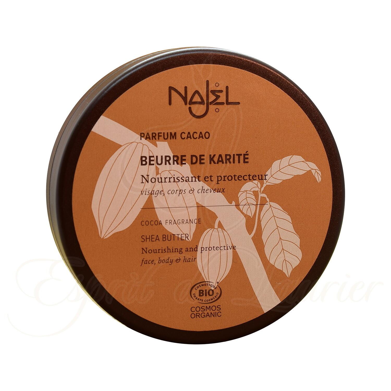 Beurre de KARITÉ BIO (PARFUM Cacao)
