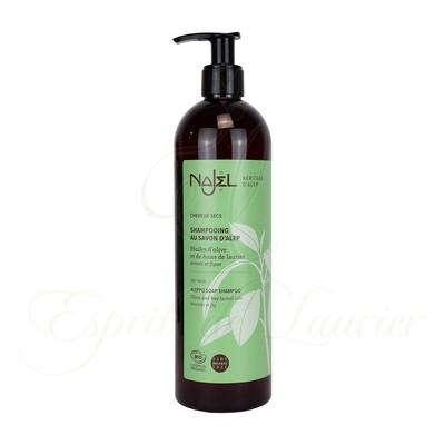 Shampoing au savon d'Alep BIO Cheveux SECS (Sans sulfate)