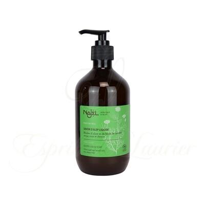 Savon d'Alep liquide parfum Miel BIO