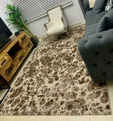 Pebbles Rug Brown (2 x 2.9 m)