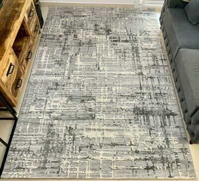 Pallas Grey Rug (Multiple sizes)