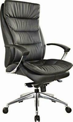 High Zuna Chair with wheels (Black)