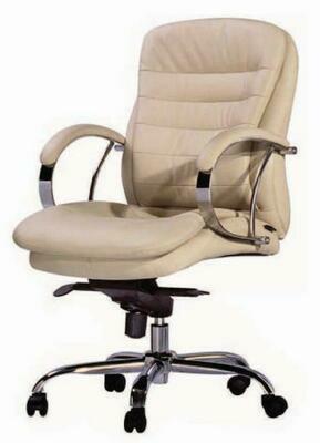 Leader Chair Medium with wheels (Cream)