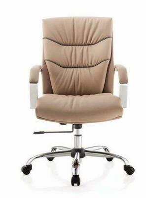 Maggie Chair Medium with wheels (Cream)