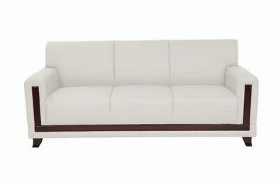 Silky 3 seater sofa (Choose 1 / 3 seater, leather/fabric, 48 colour options)