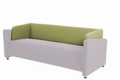 Puzzle 3 seater sofa (Choose 1 / 3 seater, leather/fabric, 48 colour options)