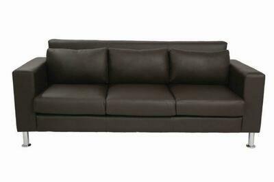 Nicole 3 seater sofa (Choose 1 / 3 seater, leather/fabric, 48 colour options)