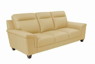 Pride 3 seater sofa (Choose 1 / 3 seater, leather/fabric, 48 colour options)