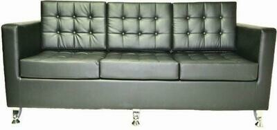 Charlotte 3 seater sofa (Choose 1 / 3 seater, leather/fabric, 48 colour options)