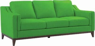 Cozy 3 seater sofa (Choose 1 / 3 seater, leather/fabric, 48 colour options)