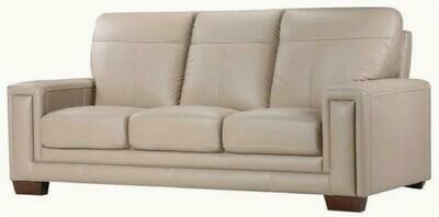 Star 2 seater sofa (Choose 1 / 2 / 3 seater, leather/fabric, 48 colour options)