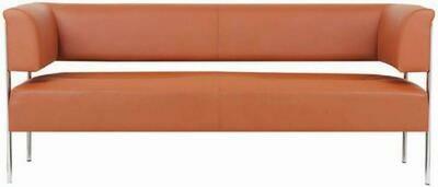 Captain 2 seater sofa (Choose 1 / 2 seater, leather/fabric, 48 colour options)