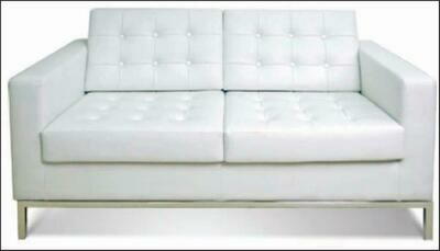 DNA 2 seater sofa (Choose 1 / 2 / 3 seater, leather/fabric, 48 colour options)