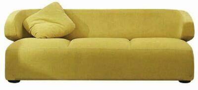 Tara 2 seater sofa (Choose 1 / 2 / 3 seater, leather/fabric, 48 colour options)