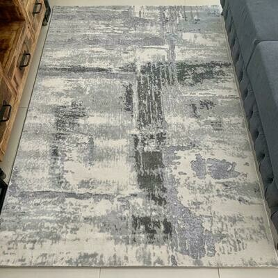 Simplicity Grey Rug (Multiple sizes)