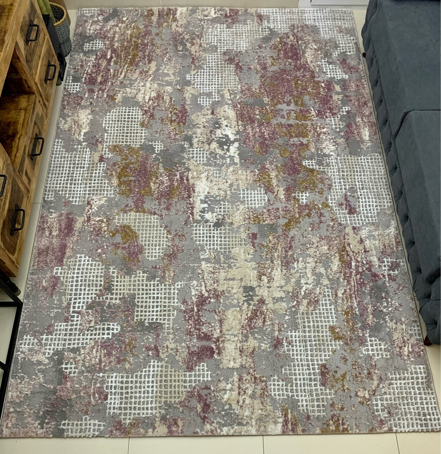 Diana Pink Rug (Multiple sizes)