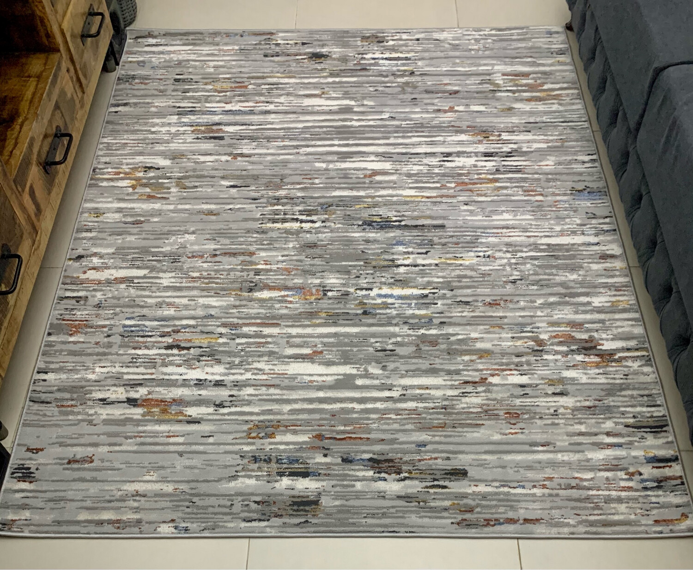 Lustro Grey Rug (160x213 cm)