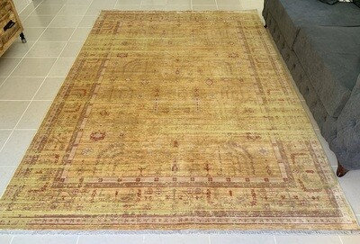 Pollux Yellow Rug (Multiple sizes)