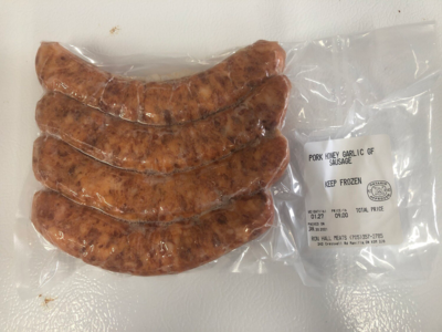 Pork Honey Garlic Sausage