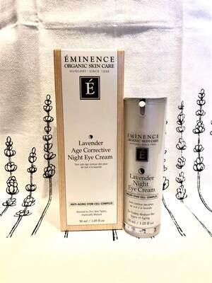 Lavender Age Corrective Night Eye Cream