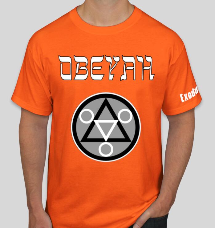 Orange Obeyah Shirt