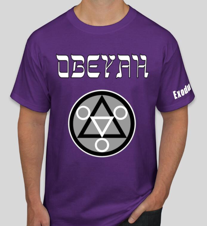 Purple Obeyah Shirt