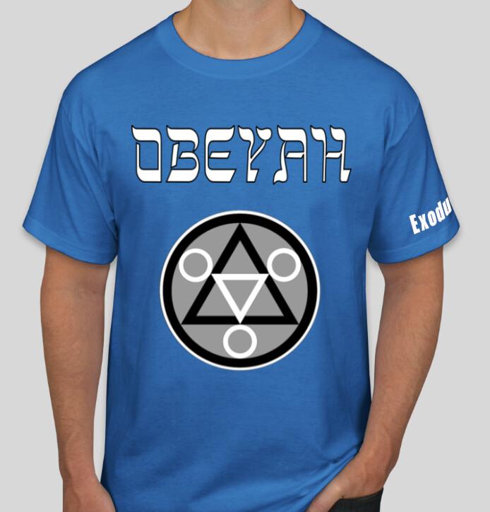 Blue Obeyah Shirt