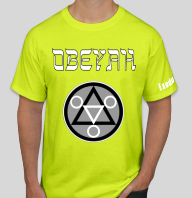 Yellow Obeyah Shirt