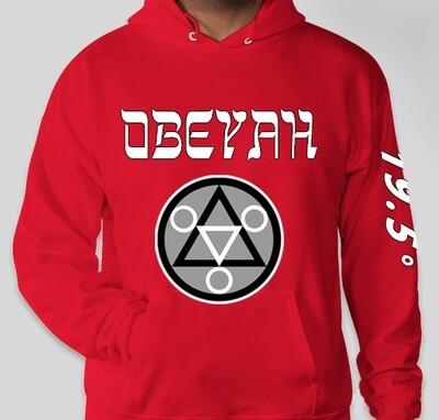 Red Obeyah Hoodie