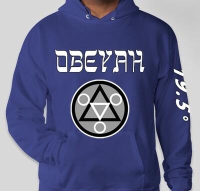 Blue Obeyah Hoodie