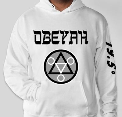 White Obeyah Hoodie