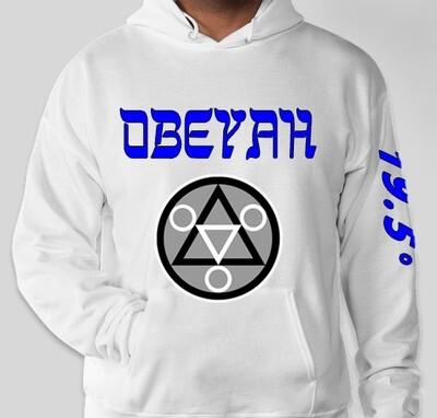 White.2 Obeyah Hoodie