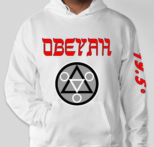White.1 Obeyah Hoodie