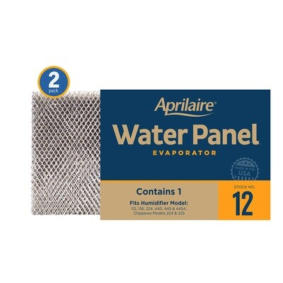 Aprilaire Water Panel #12 Humidifier Filter Pad