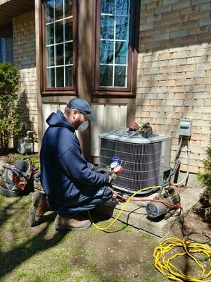 Air Conditioner Diagnostic Service Call