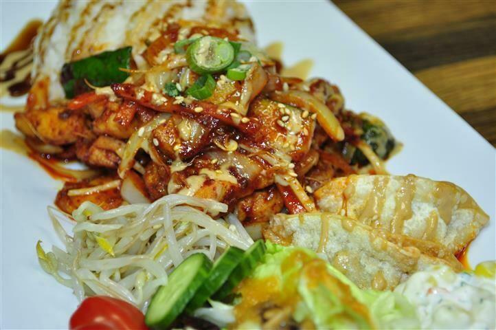 B1. Spicy Chicken (닭갈비)