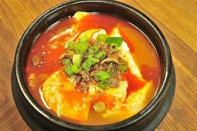 S2. Soft Tofu Seafood Soup (해물순두부)