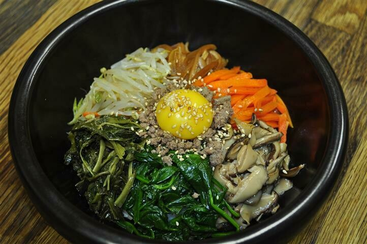 B8. Korean Traditional Bi Bim Bap (비빔밥)
