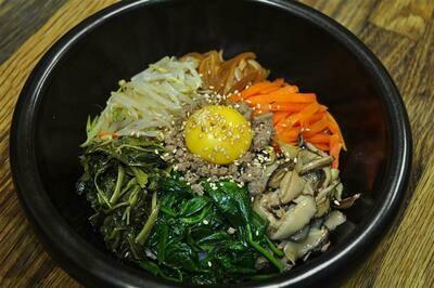 B8. Korean Traditional Bi Bim Bap (비빔밥)