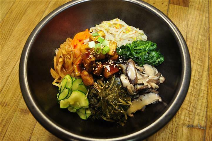 B10. Tofu Bi Bim Bap (두부 비빔밥)