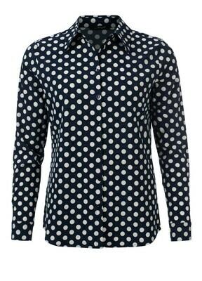Dayz blouse donker blauw